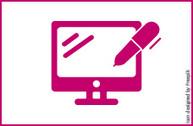 Symbol für Online-Anmeldung
