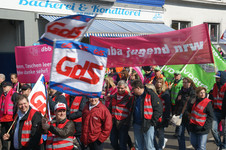 Titelbild Streik und Demo in Bochum 2014