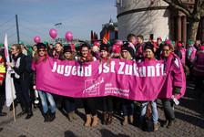Titelbild Demo in Düsseldorf