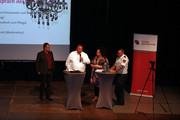v.l.n.r.: Ingo Bings, Andre Volmer, Sandra van Heemskerk, Valentino Tagliafierro