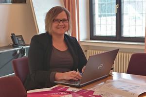 Lena Liedmeyer engagiert sich gerne für junge Beschäftigte. (Foto: © privat)