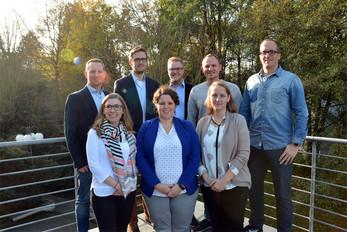 Gruppenfoto der Landesjugendleitung im November 2016