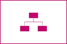 Icon: Organisation und Ziele