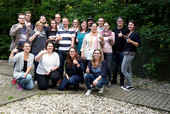 Teilnehmerinnen und Teilnehmer der Jugendleiterkonferenz. © komba jugend nrw