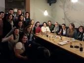 Gruppenfoto der Teilnehmer des Stammtisches der JG Aachen am 17.12.2013